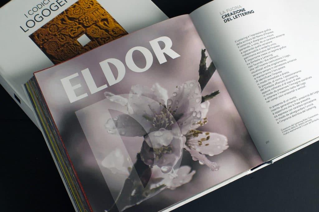 Logogenesi Restyling Eldor Lettering