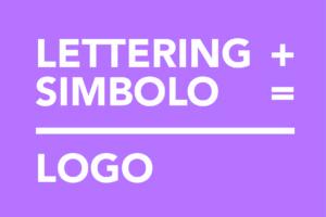 definizione termini lettering simbolo logo