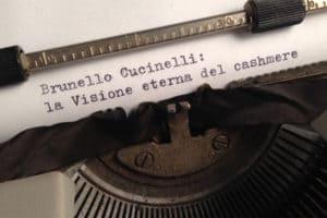 Brunello Cucinelli: la visione eterna del cashmere.