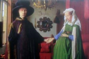 Coniugi-Arnolfini-Van Eyck
