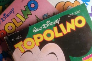 Topolino-Lettering