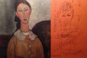 Modigliani-Disegno da bere