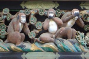 La Simbologia ambigua delle tre scimmie.