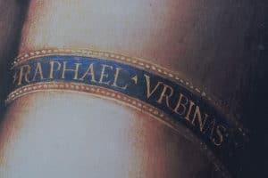 Raffaello-lettering-logogenesi